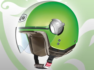 Le casque jet Nolan N20 Traffic a plus de style