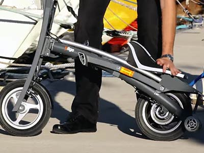 scooter pliable