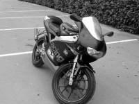 Avatar du Aprilia RS 50 Full Black And White