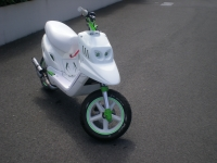 MBK Booster Spirit White And Green (perso-16983-10_06_06_12_45_45)