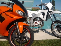 Yamaha TZR 50 Orange And Black (perso-19506-959e095e)