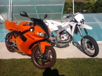 Yamaha TZR 50 Orange And Black (perso-19506-b71a8817)