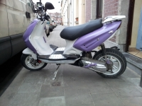 Keeway F-Act 50 White & Purple (perso-20108-c0b98147)