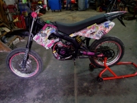 Derbi Senda SM X-Race FulL`Pink (perso-20220-dec82173)
