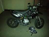 Sherco HRD 50 SM Sonic Black And Green (perso-20813-ed1969f3)