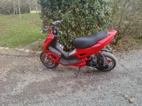 Peugeot Speedfight 2 Speedy 2 Red And Black (perso-20825-4ccb6954)