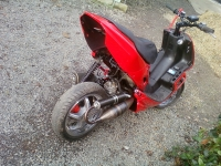 Peugeot Speedfight 2 Speedy 2 Red And Black (perso-20825-6dd23bee)