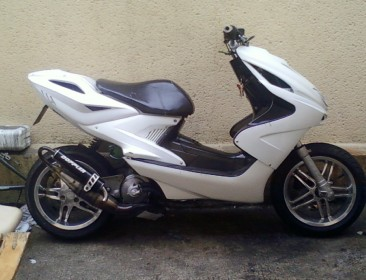 Avatar du MBK Nitro White Project