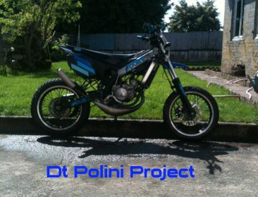 Yamaha DT 50 MX Polini Projet (perso-21148-141657cc)