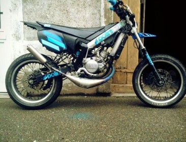 Yamaha DT 50 MX Polini Projet (perso-21148-6fffd761)