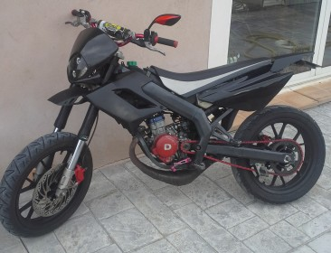 Derbi Senda SM DRD Evo Limited Edition Fighter (perso-21295-3f9303f9)
