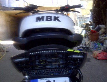 MBK Booster Spirit 12 Naked Black & Green (perso-21411-09276f25)