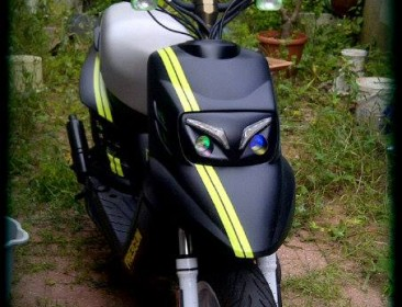 MBK Booster Spirit 12 Naked Black & Green (perso-21411-b7801ab3)