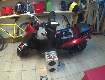 Kymco Agility 50 MMC 12'' Speed 4t (perso-21559-5b7fff7e)