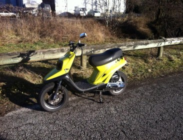 MBK Booster Spirit Yellow&Black 70cc (perso-21617-314ad2cd)