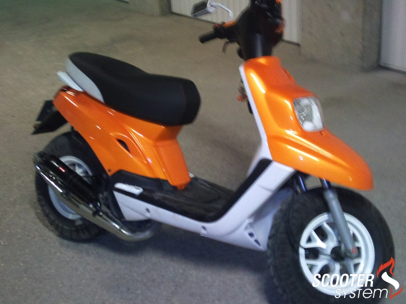 Yamaha  Bw s Original Orange