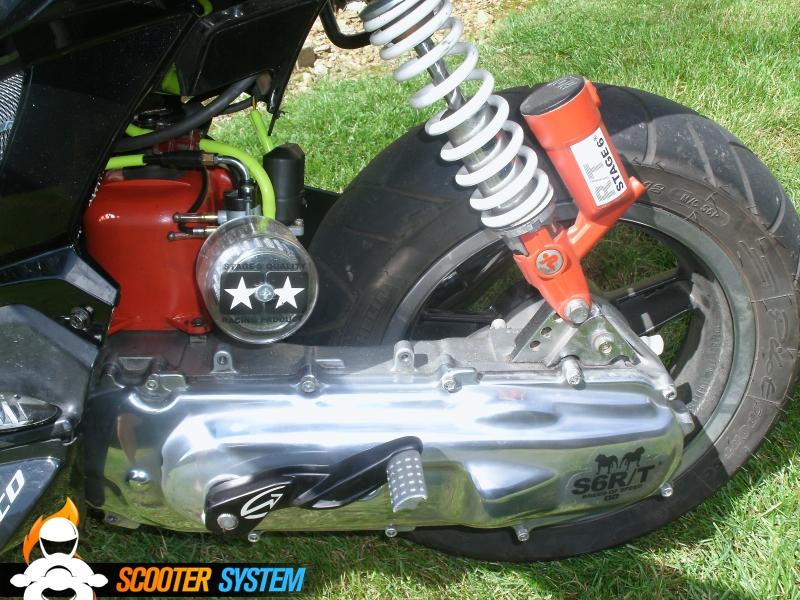 MBK Booster Spirit 12 Naked Bcd Rx Black/chrom