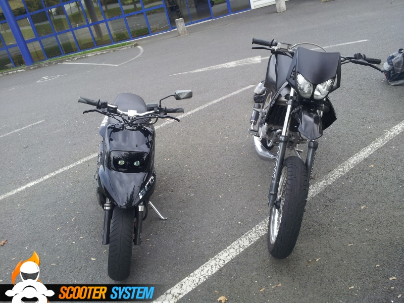 MBK Booster Spirit 12 pouces BCD RX Stage6