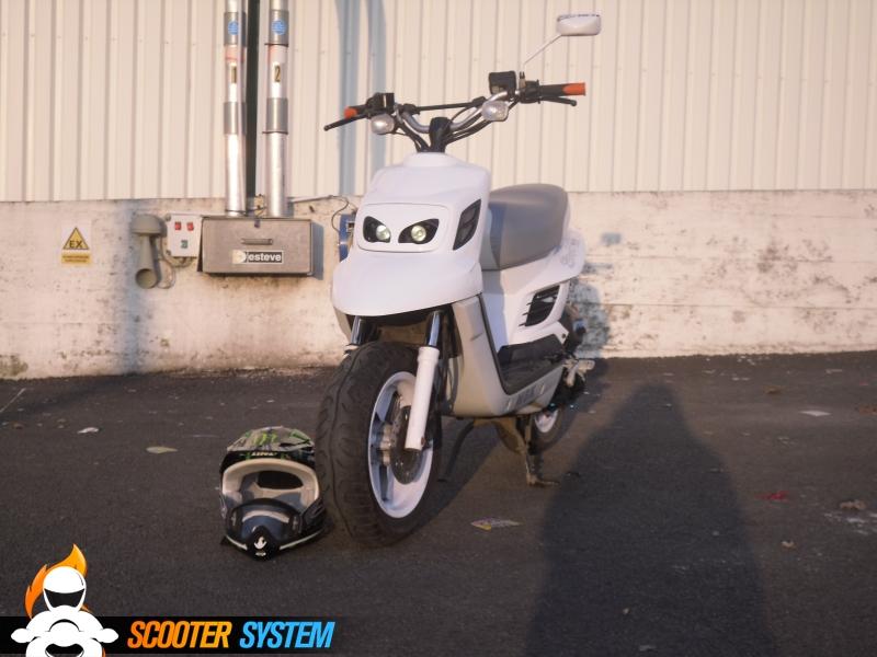 MBK Booster Spirit 12 Naked Full BCD RX