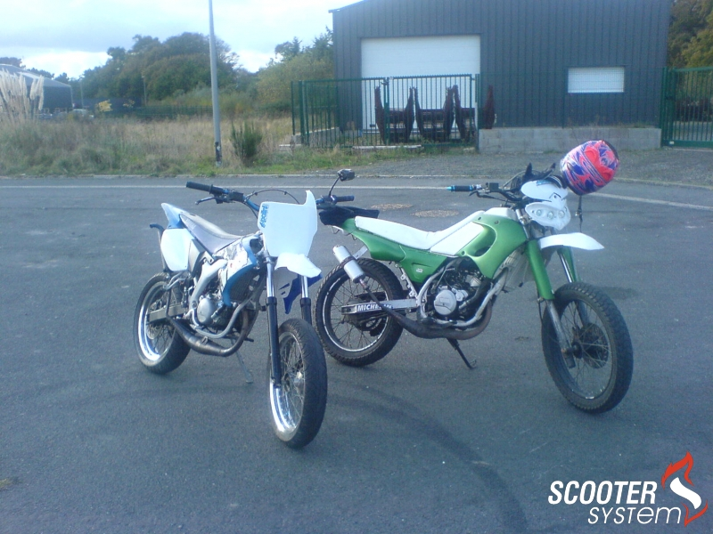 Yamaha  DT 50 R DT replica YZ 80cc