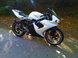 Yamaha TZR 50 Black And White