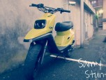 MBK Booster Spirit Yellow&Black 70cc
